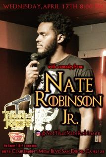 Thorne Of Jokes 2019 Event Poster - Nate Robinson Jr - 04.17.19
