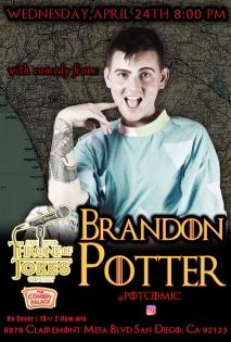 Thorne Of Jokes 2019 Event Poster - w02 - Brandon Potter