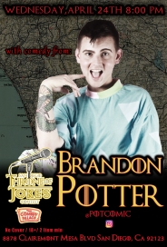 Thorne Of Jokes 2019 Event Poster - w02 - Brandon Potter
