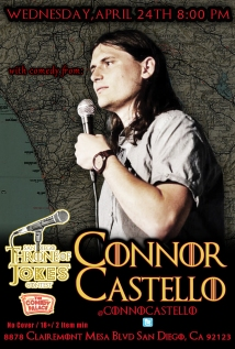 Thorne Of Jokes 2019 Event Poster - w02 - Connor Castello