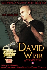 Thorne Of Jokes 2019 Event Poster - w02 - David Wizer