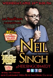 Thorne Of Jokes 2019 Event Poster - w02 - HL -Neil Singh