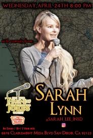 Thorne Of Jokes 2019 Event Poster - w02 - Sarah Lynn