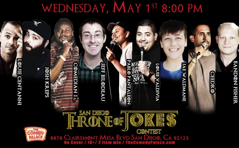 Thorne Of Jokes 2019 Event Poster - W03 - All Horizontal