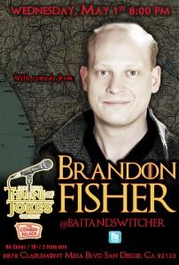 Thorne Of Jokes 2019 Event Poster - w03 - Brendan Fisher