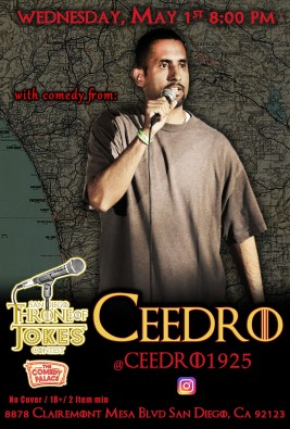 Thorne Of Jokes 2019 Event Poster - w03 - Ceedro