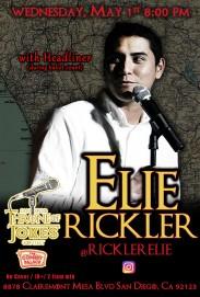 Thorne Of Jokes 2019 Event Poster - w03 - HL Elie Rickler