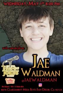Thorne Of Jokes 2019 Event Poster - w03 - Jae Waldman