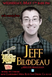 Thorne Of Jokes 2019 Event Poster - w03 - Jeff Bilodeau