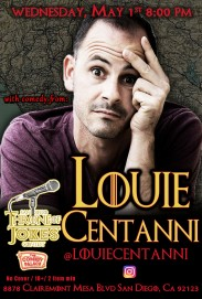 Thorne Of Jokes 2019 Event Poster - w03 - Louie Centanni