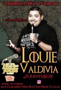 Thorne Of Jokes 2019 Event Poster - w03 - Louie Valdivia