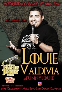 Thorne Of Jokes 2019 Event Poster - w03 - Louie Valdivia
