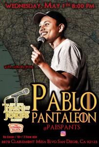 Thorne Of Jokes 2019 Event Poster - w03 - Pablo Pantaleon