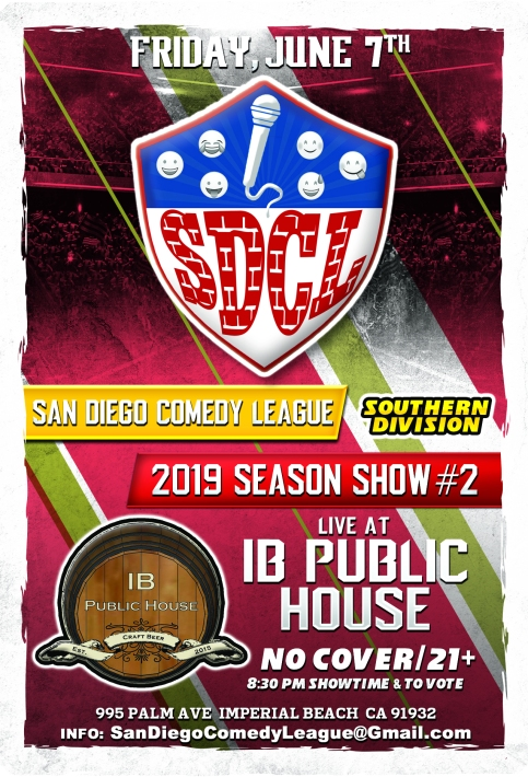 SDCL Gameday Poster - SD - 02 - IB Public House
