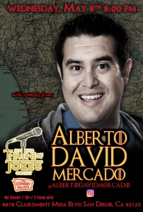 Thorne Of Jokes 2019 Event Poster - w04 - Albert David Mercado