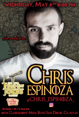 Thorne Of Jokes 2019 Event Poster - w04 - Chris Espinoza