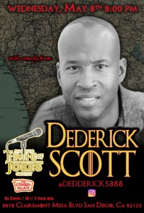Thorne Of Jokes 2019 Event Poster - w04 - Dederick Scott