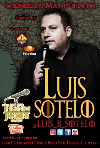 Thorne Of Jokes 2019 Event Poster - w04 - H -Luis Sotelo