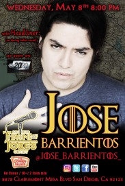 Thorne Of Jokes 2019 Event Poster - w04 - HL - Jose Barrientos