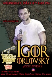 Thorne Of Jokes 2019 Event Poster - w04 - Igor Orlovsky