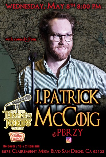 Thorne Of Jokes 2019 Event Poster - w04 - J.Patrick McCoig