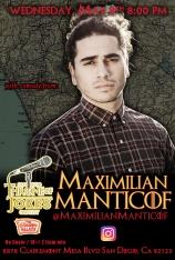 Thorne Of Jokes 2019 Event Poster - w04 - Maximilian Manticof