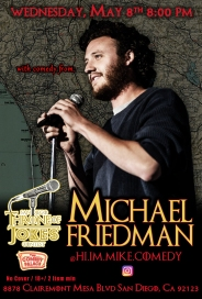 Thorne Of Jokes 2019 Event Poster - w04 - Michael Friedman
